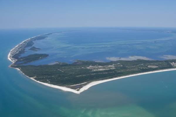 Cape San Blas Aerial View