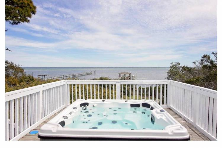 Hot Tub at Vacation Rental in Cape San Blas