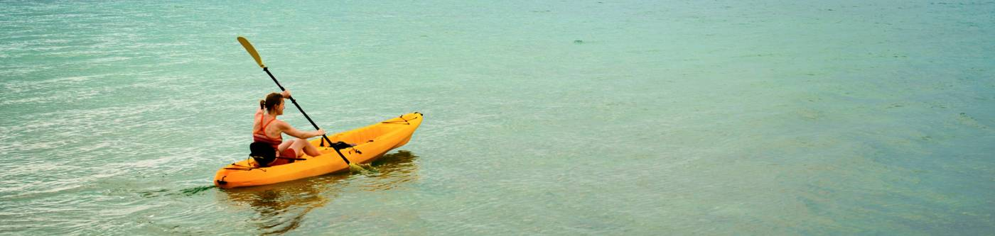 Kayaking on Cape San Blas